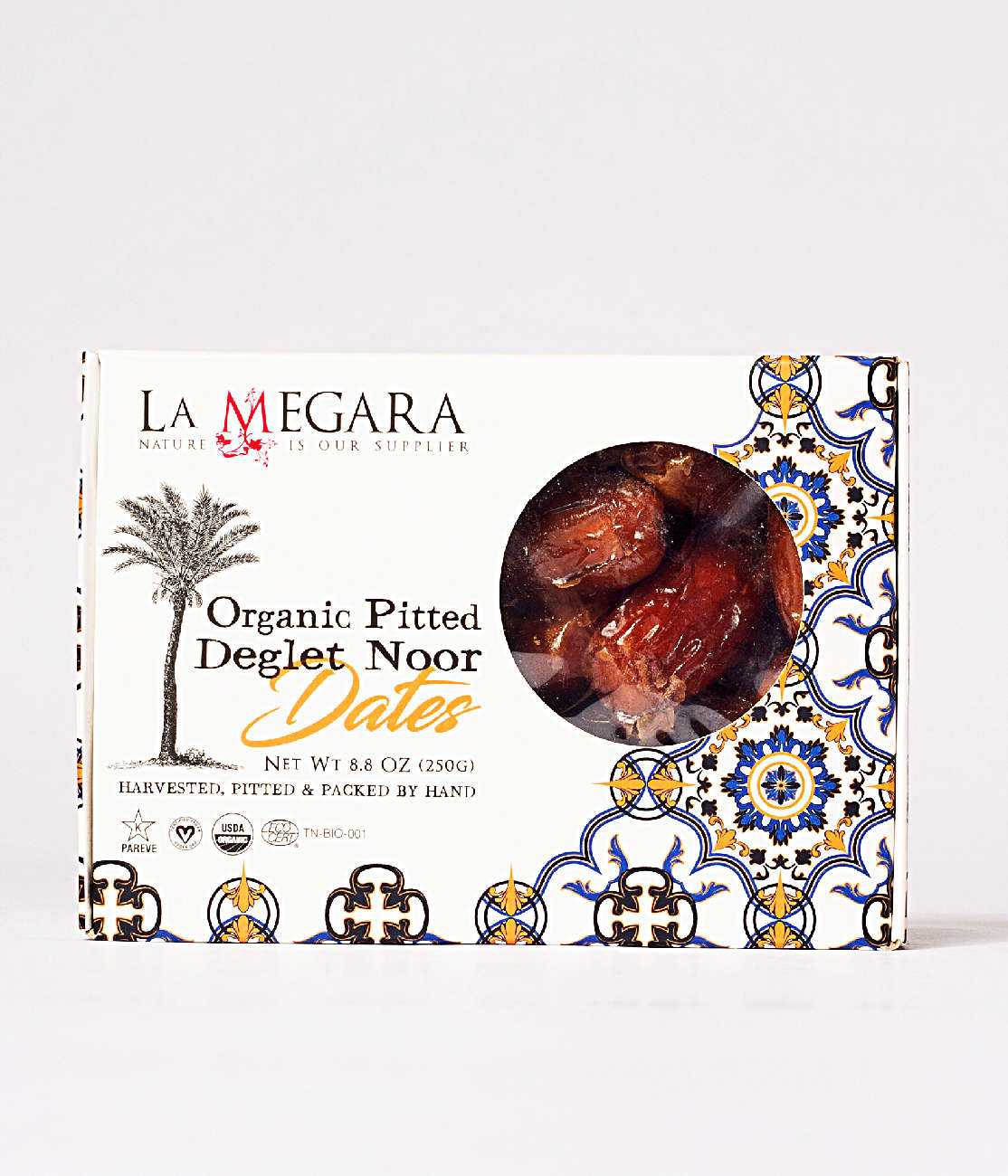 Organic Pitted Deglet Noor Dates Image 0